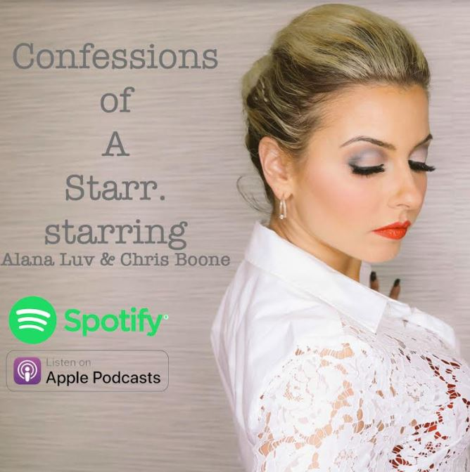"""Alana Luv Reveals All in Autobiographical Podcast  """"Confessions of a Starr""""  Chapter One of a Twelve-Part Series Now Out"""