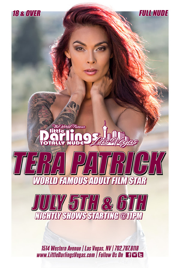 Tera Patrick Performs Live & Headlines at Little Darlings Gentlemen's Club
