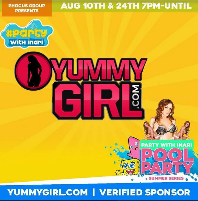 Sofie Marie's YummyGirl.com Sponsoring Industry Pool Party