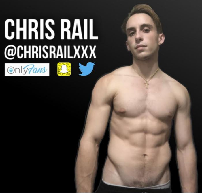 Chris Rail Nominated for Best Male Newcomer at 2021 AVN Awards