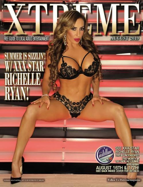 Richelle Ryan Graces the Cover of  August Xtreme Magazine