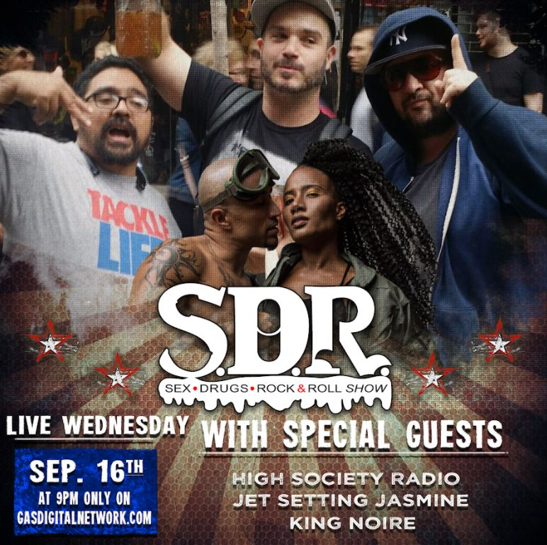 Jet Setting Jasmine and King Noire Host The SDR Show's Poddybud Game Tonight at 9pm ET