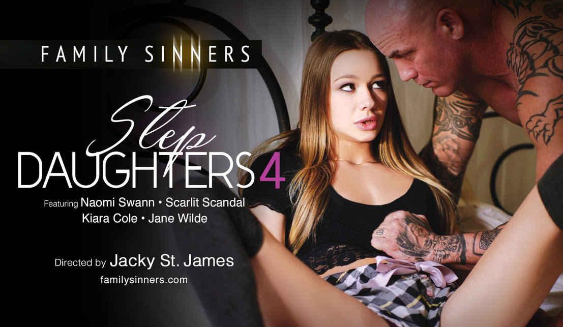 FAMILY SINNERS' 'STEP DAUGHTERS 4' IS NOW ON DVD