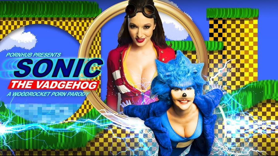 Sonic the Hedgehog Gets Bluer with a XXX Parody