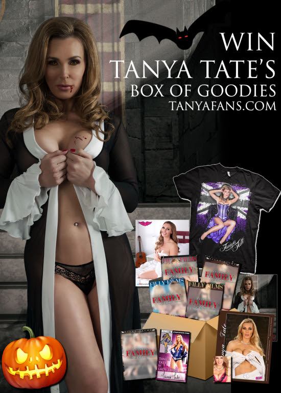 Win A Package of Tanya Tate Sexy Halloween Themed Goodies