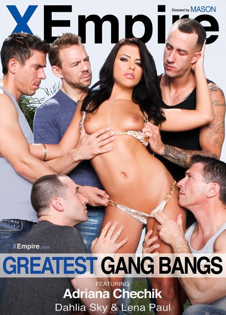 Adriana Chechik Stars in X Empire's 'Greatest Gang Bangs'