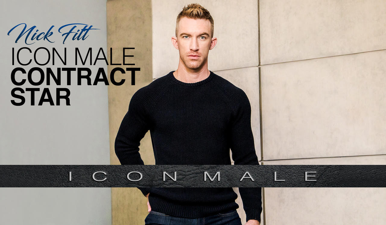 Nick Fitt Now the Face of Icon Male with Exclusive Contract