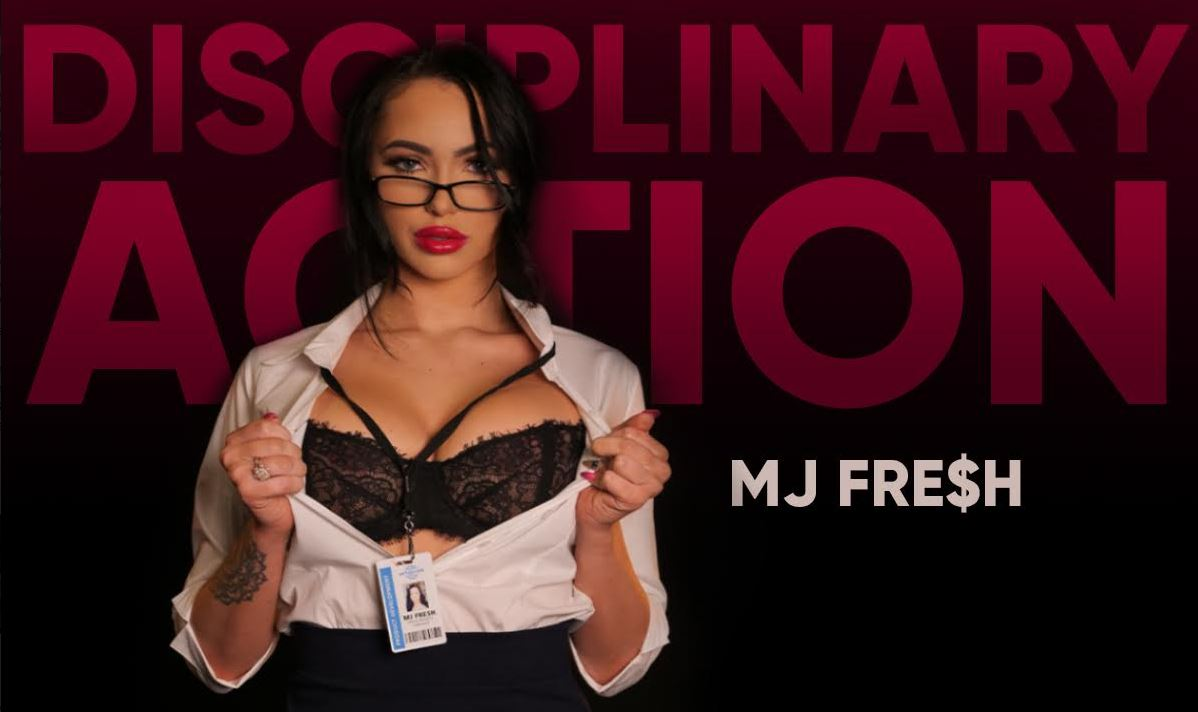 MJ Fresh Stimulates Staff by taking 'Disciplinary Action' in New VR Scene from SexLikeReal