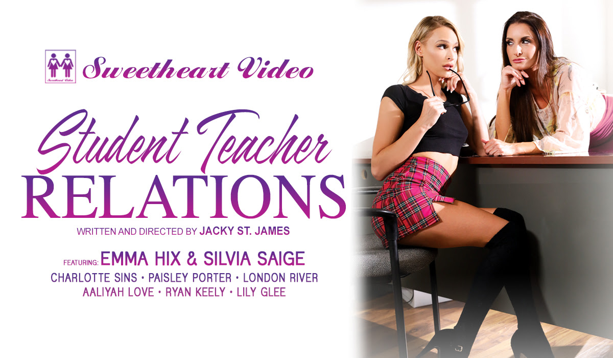 Jacky St. James' 'Student Teacher Relations' Debuts on Sweetheartvideo.com