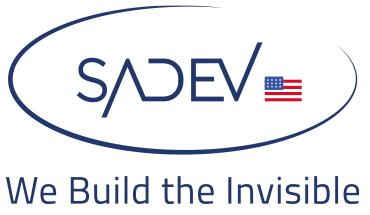 Logo SADEV USA 2020