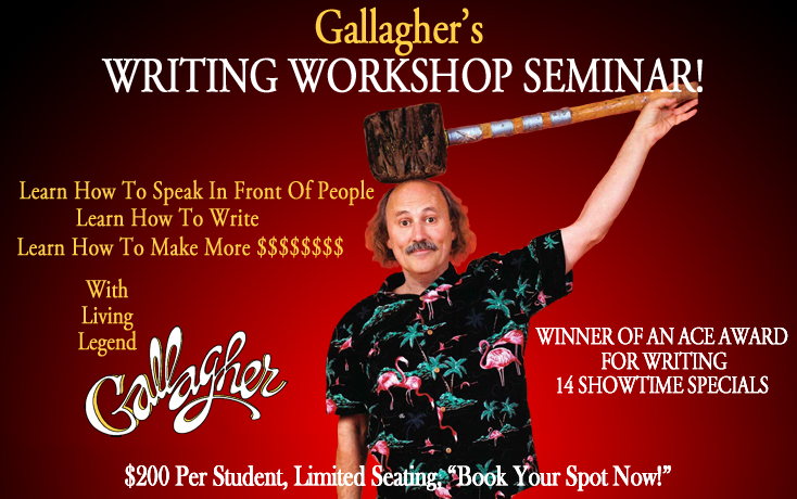 SPECIAL WRITING WORKSHOP SEMINAR- ONE DAY ONLY! @ MCCURDY'S COMEDY THEATRE | Sarasota | Florida | United States