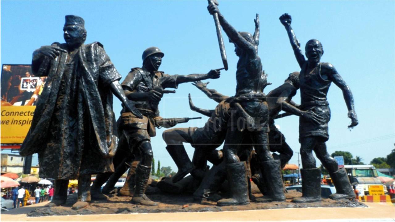 coal miners strike enugu artwork