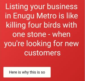 List your business in Enugu City Directory