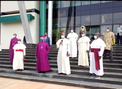 Enugu Clergy hold private meeting with State Governor