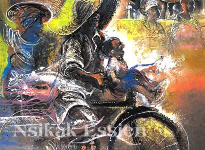 Nsikak Essien, Artist Extraordinaire and a Generous Spirit, Departs