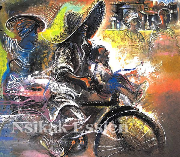 artist Nsikak Essien dies