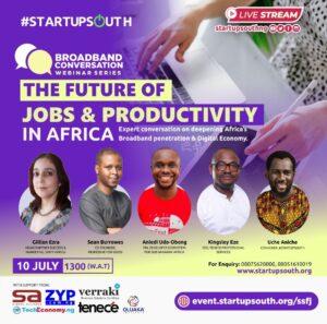 #BroadbandConversation: The Future of Jobs & Productivity in Africa