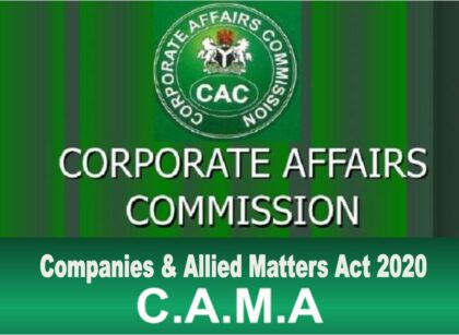 14 Notable Highlights of Nigeria's CAMA 2020 Law