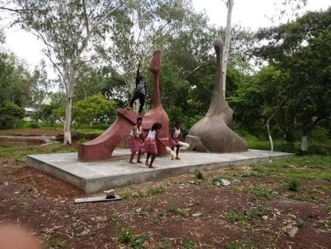 new unity park enugu artwork