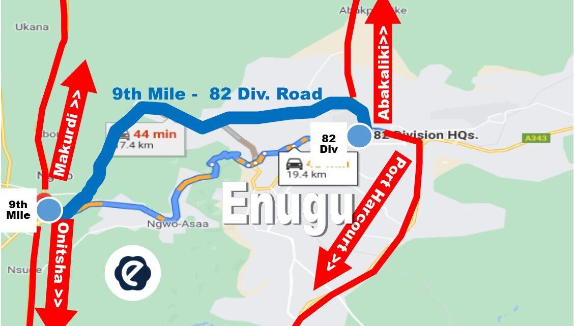 enugu-9th-mile road
