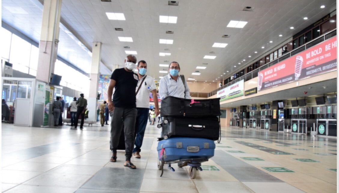 passengers dodge covid19 test