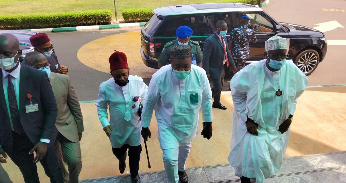 Buhari delegation in Enugu