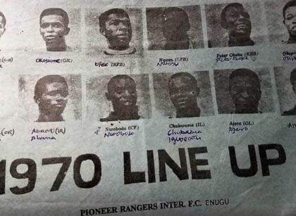 Golden Years of Enugu Rangers International