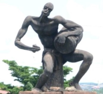 Otigba junction sculpture