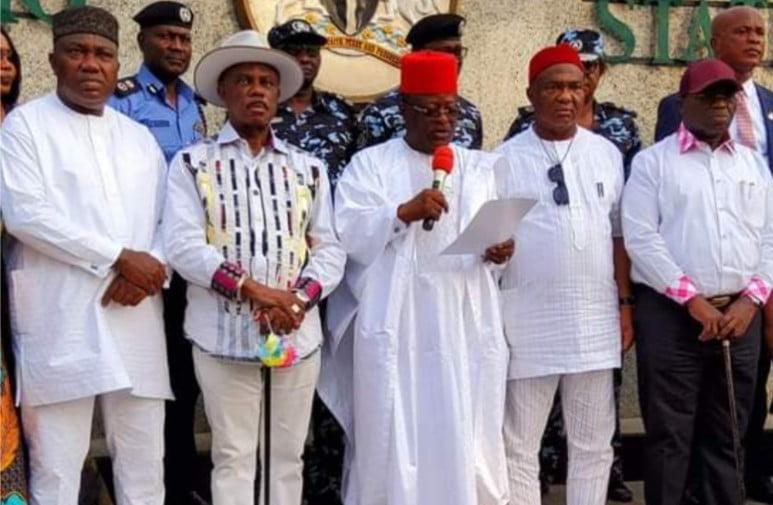 south-east governors launch ebubeagu