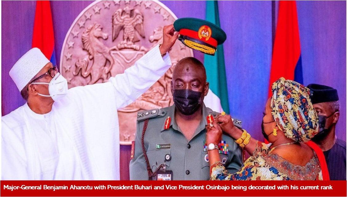 buhari appoint Igbo army chief