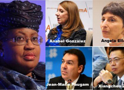 Okonjo-iweala appoints WTO DGs