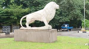 white lion artwork enugu