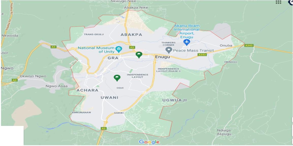 enugu city neighborhoods