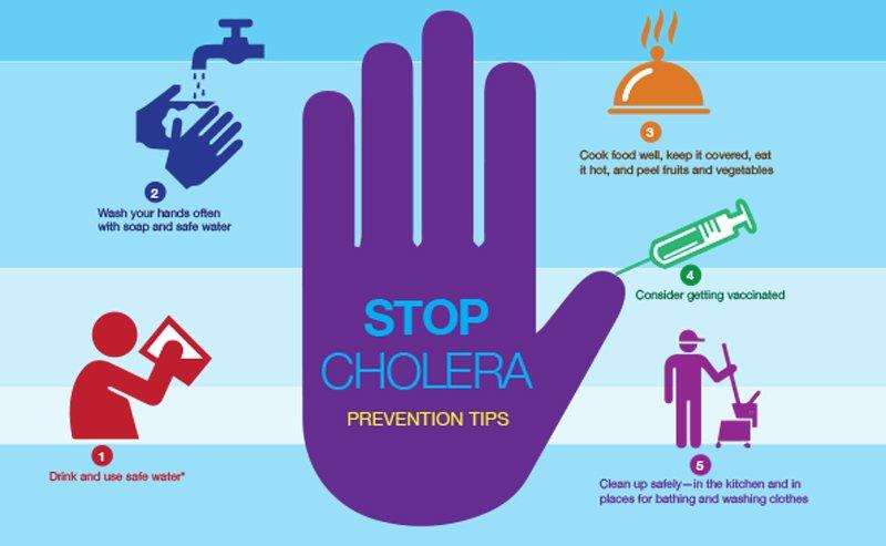 cholera outbreak in 7 states