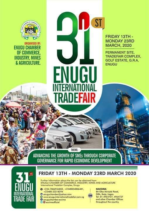 Enugu Chamber of Commerce Industry Mines and Agriculture