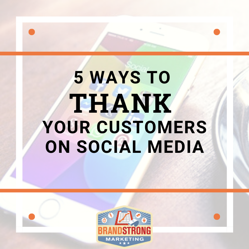 5 Ways to Thank Customers