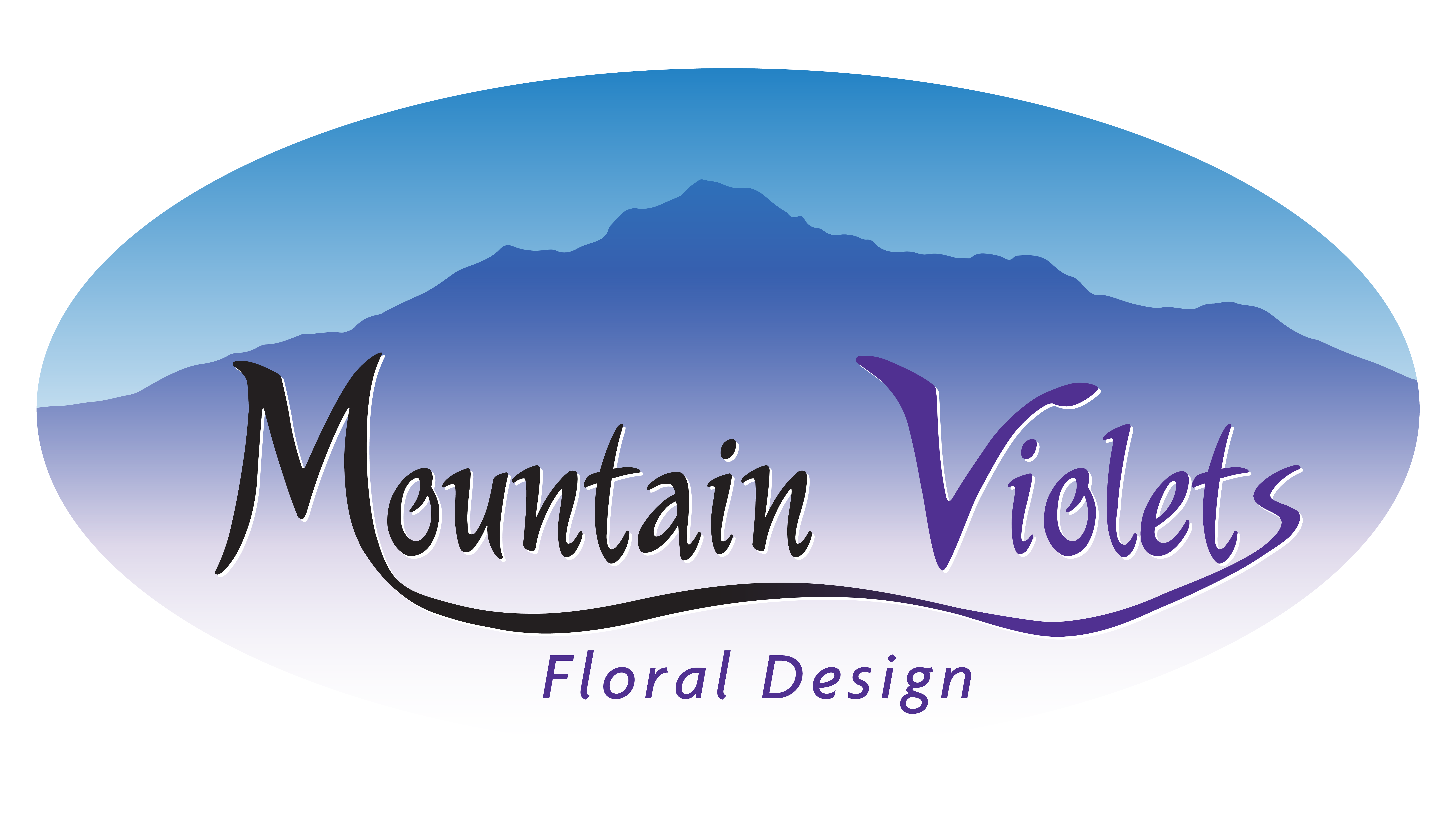 Logo © Mountain Violets Floral Design - 2018