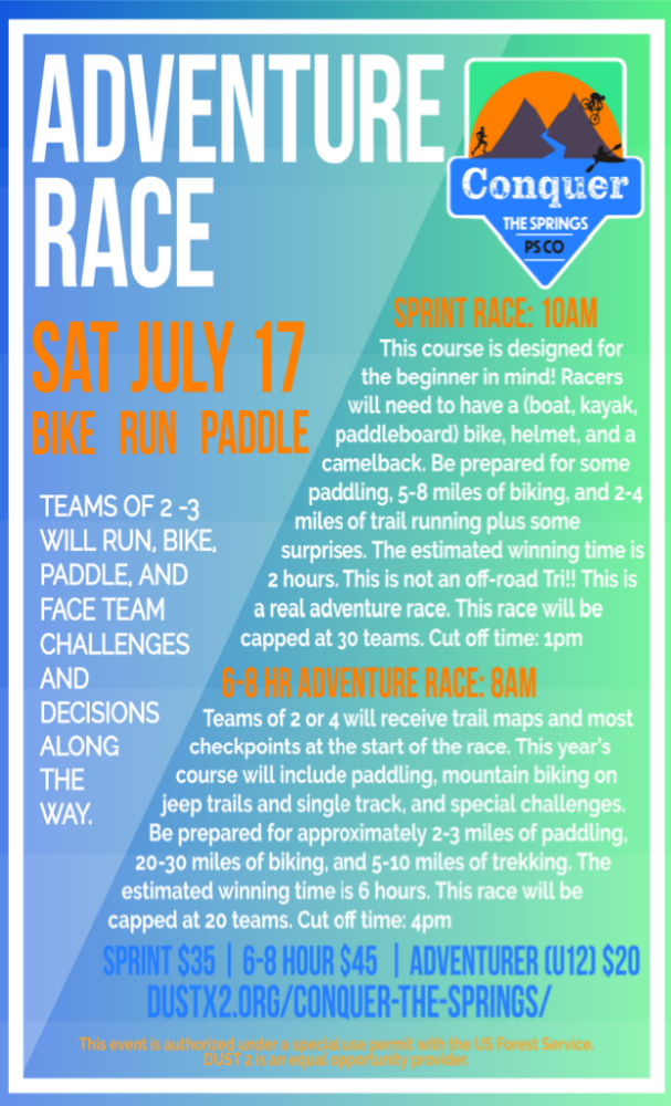Conquer the Springs Adventure Race – July 17th