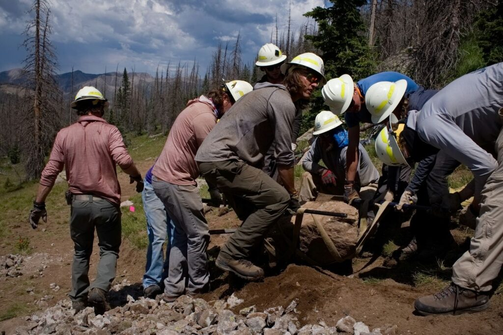 2021 Dig Where You Ride Forest Service Partnership Project: Windy Pass