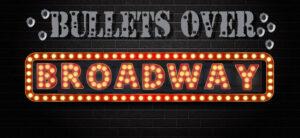 Logo for Bullets Over Broadway