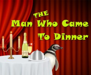Logo for The Man Who Came to Dinner