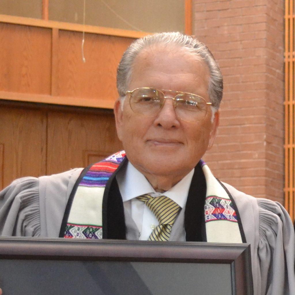 Reverend Tino Ballesteros, Pastor Emeriti