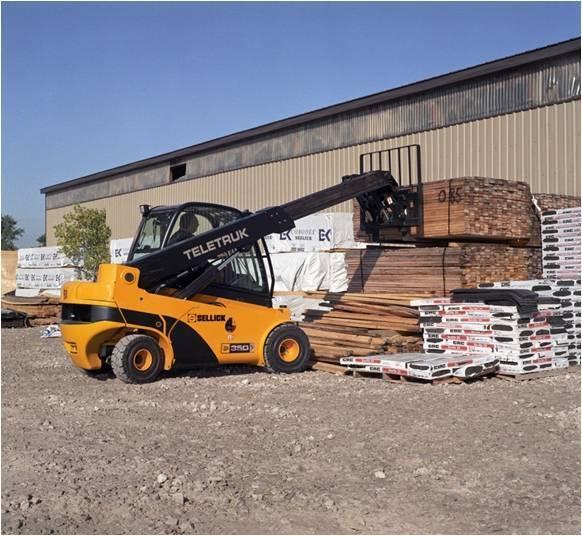 teletruk lumber yard