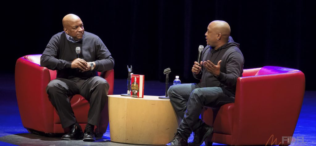 Ralph McDaniels Interviewing Daymond John about his new book The Power of broke