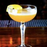 """""""Passion on 2nd Street"""" Agave has come together with tropical temptations and a little spice to bring you everything nice tequila-passion fruit-lemon-chili liqueur-bitters"""
