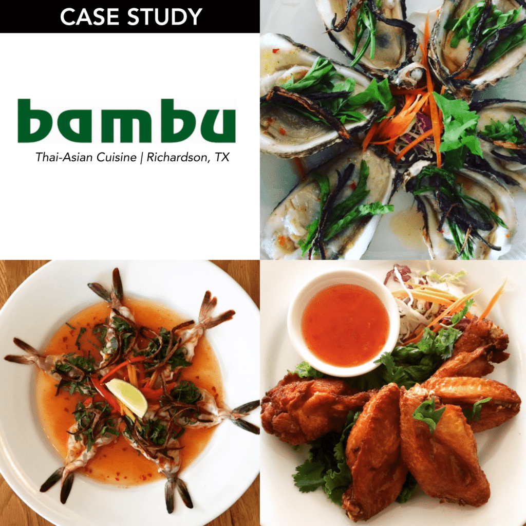 Confused about obtaining restaurant insurance? Check out our case study with bambu, a Thai-Asian restaurant in Richardson, TX.