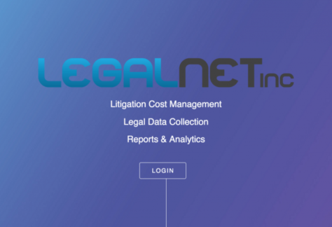 This is LegalNet's Online Reporting Tool.