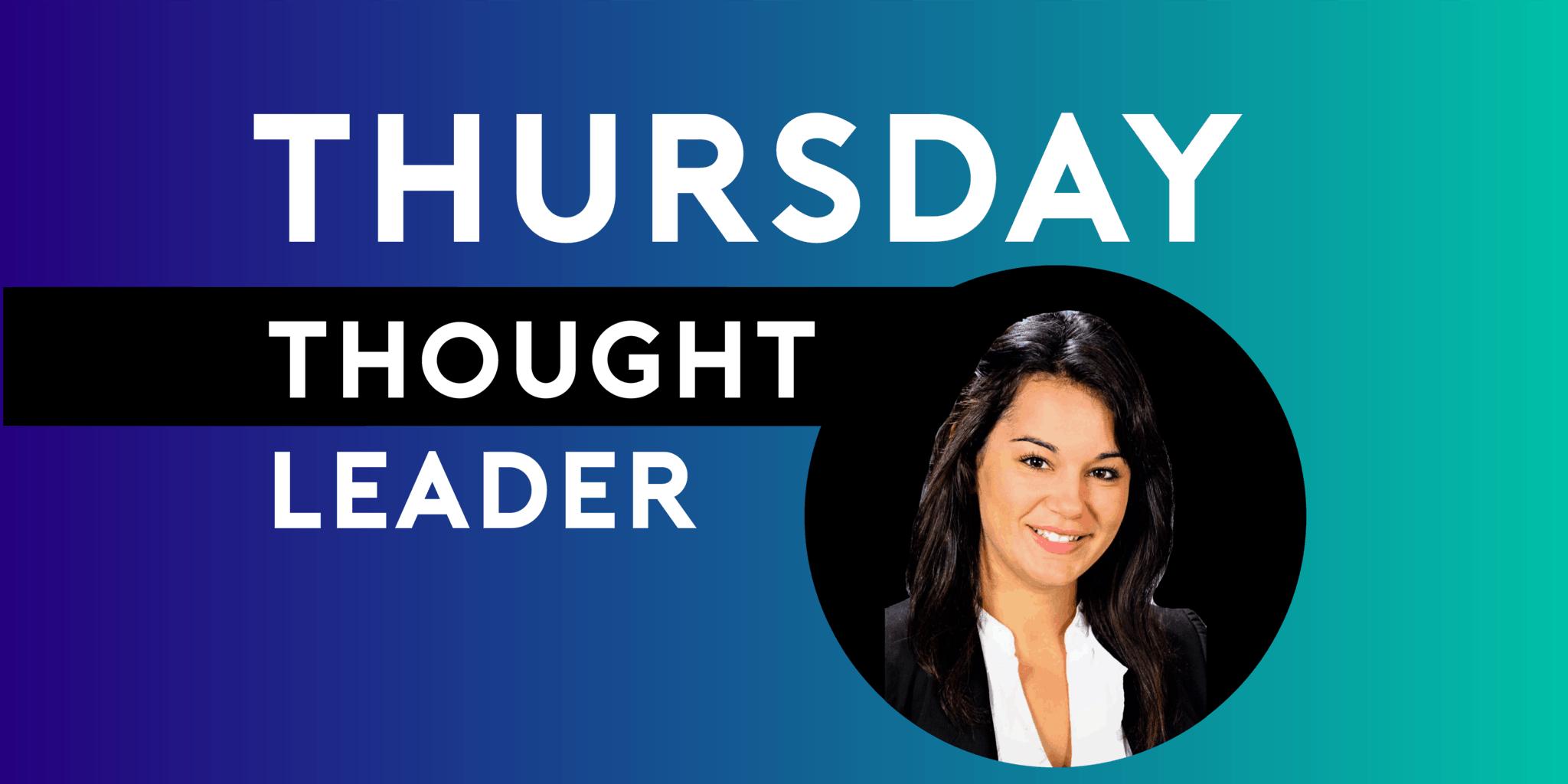 Aisha Monem Draznik of Cintas is this week's LegalNet Inc Thursday Thought Leader