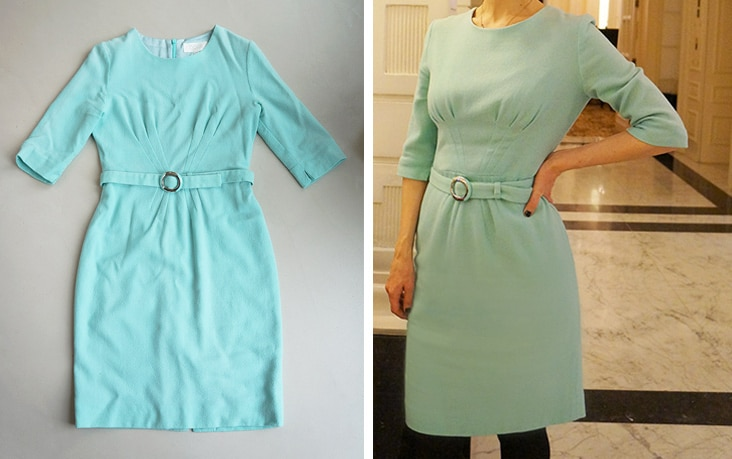 """Goat"" Mint dress"