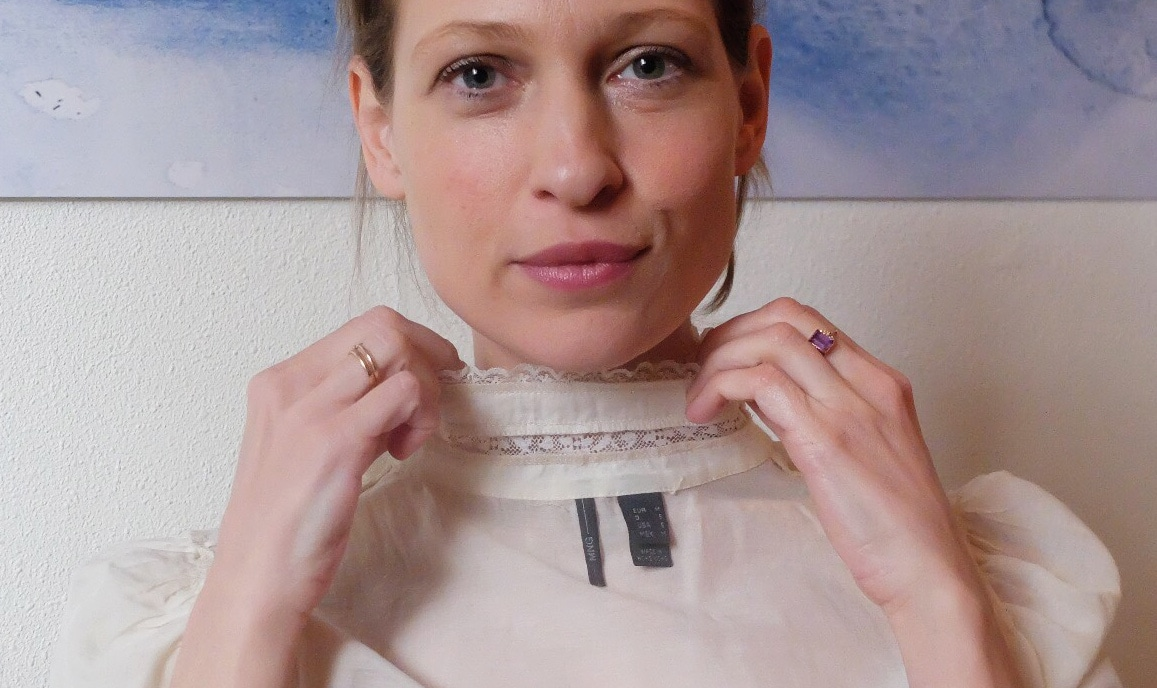 Victoria Onken is asking Mango: #whomademyclothes? as a part of Fashion Revolution Week